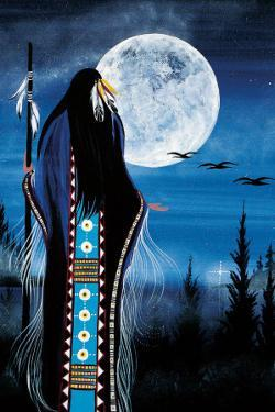 Evening Star Woman by Betty Albert
