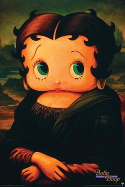 Betty Boop Mona Lisa