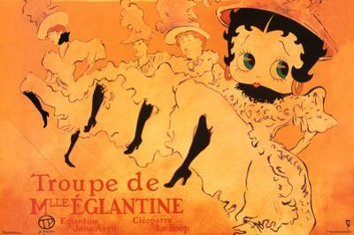 Betty Boop Movie (Troupe de Mlle. Eglantine) Poster Print