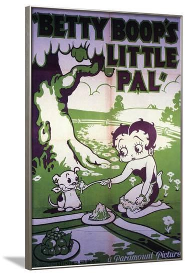 Betty Boop's Little Pal--Framed Poster