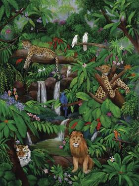Tree Leopards by Betty Lou
