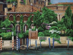 Venice Left Bank by Betty Lou