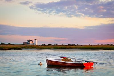 Cape Cod Lighthouse by Betty Wiley