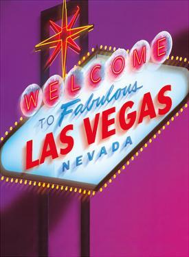 Welcome to Fabulous Las Vegas Nevada Sign by Betty Willis