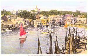 Between the Wharves, Nantucket, Massachusetts