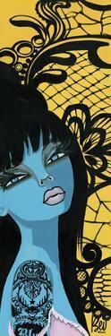 Ink Chiffon I by Bev Hogue