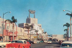 Beverly Drive in the Fifties