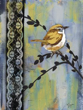 Bird Song Buds I by Beverly Dyer