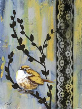 Bird Song Buds II by Beverly Dyer