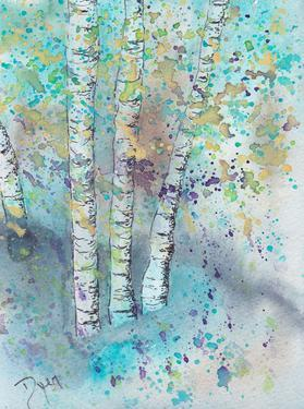 Blue Forrest by Beverly Dyer