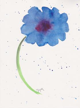 Blue Poppy 1 by Beverly Dyer