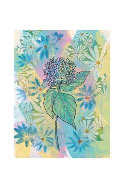 Botanical Boho Hydrangea by Beverly Dyer