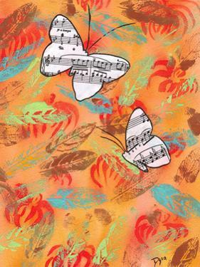 Butterfly Song III by Beverly Dyer