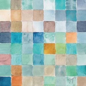 Color BLock Blue Story by Beverly Dyer