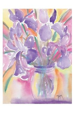 Dutch Iris by Beverly Dyer