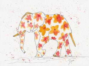 Elephant Flower by Beverly Dyer