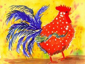 Farm House Rooster III by Beverly Dyer