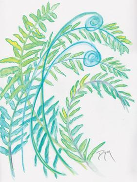 Floral Fern I by Beverly Dyer