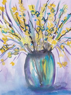 Forsythia Bouquet by Beverly Dyer