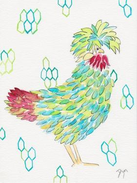 Funky Chicken 1 by Beverly Dyer