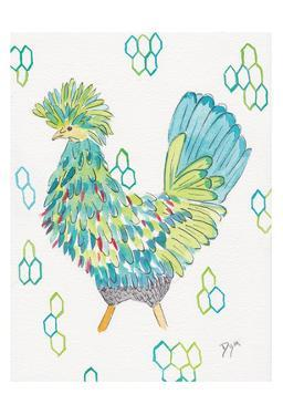 Funky Chicken 2 by Beverly Dyer