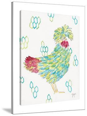 Funky Chicken I by Beverly Dyer