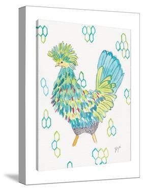 Funky Chicken II by Beverly Dyer