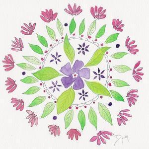 Nature Mandala I by Beverly Dyer