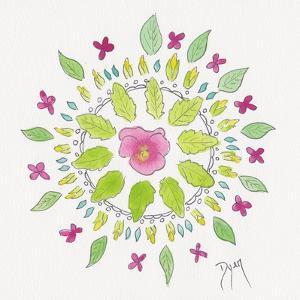 Nature Mandala II by Beverly Dyer