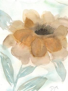 Neutral Peony II by Beverly Dyer