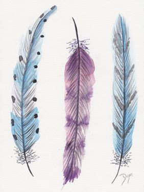 October Feathers I by Beverly Dyer