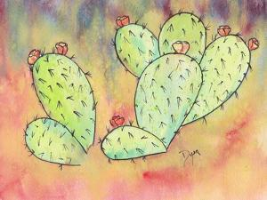 Prickly Pear Cactus by Beverly Dyer