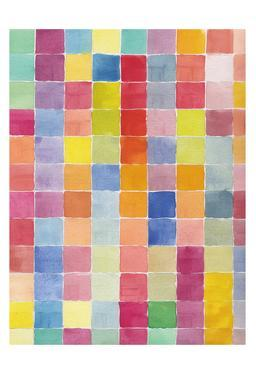 Rainbow Color Block 1 by Beverly Dyer