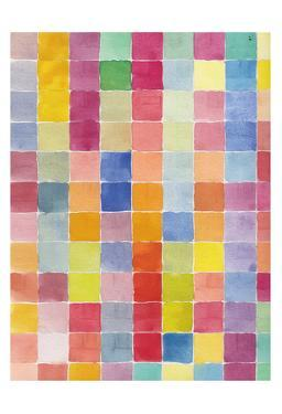 Rainbow Color Block 2 by Beverly Dyer
