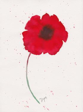 Red Poppy 1 by Beverly Dyer
