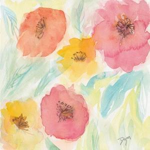 Soft Floral I by Beverly Dyer