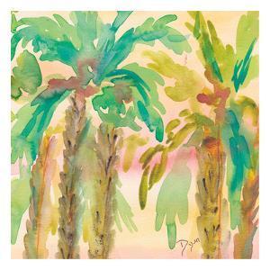 Sunset Palms 1 by Beverly Dyer