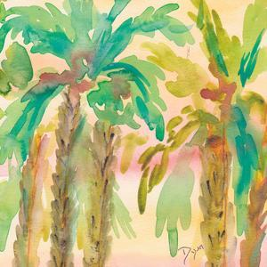 Sunset Palms 1 by Beverly Dyer