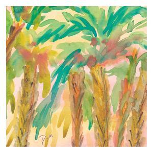 Sunset Palms 2 by Beverly Dyer