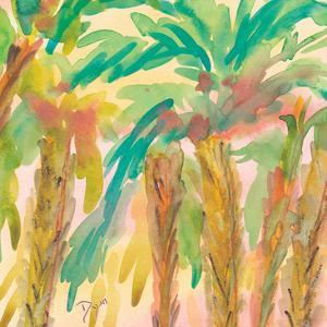 Sunset Palms 2 by Beverly Dyer