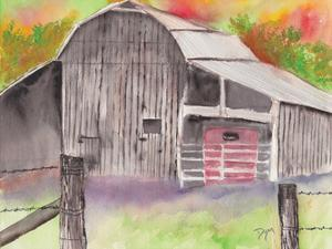 The Barn by Beverly Dyer