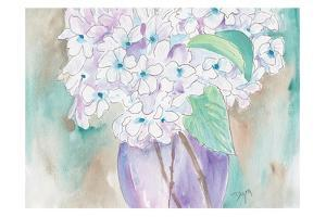 White Hydrangea by Beverly Dyer
