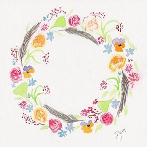 Wildflower Wreath 2 by Beverly Dyer