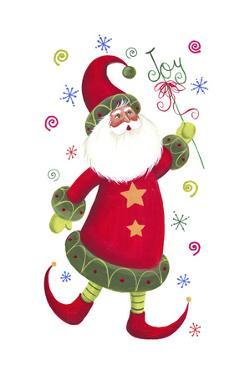 Joyous Santa by Beverly Johnston