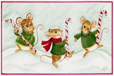 Mice with Candy Canes