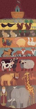 Noah, His Ark and Two of a Lot of Animals by Beverly Johnston