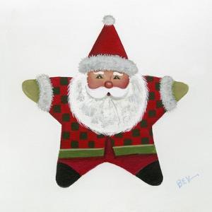 Santa Star by Beverly Johnston