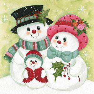 Snow Family by Beverly Johnston