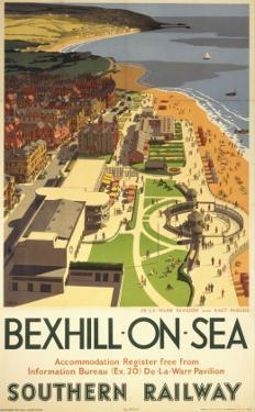 Bexhill-On-Sea from Air