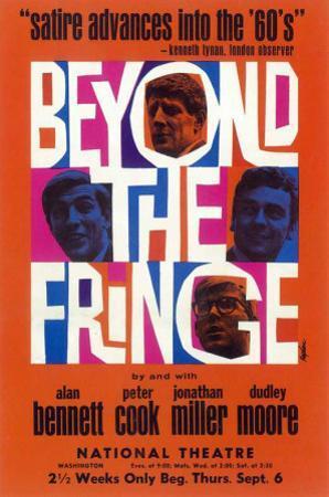 Beyond the Fringe - Broadway Poster , 1962